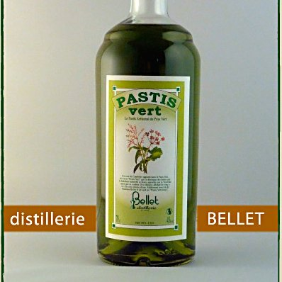 Distillerie Bellet - Pastis Vert - Apéritif