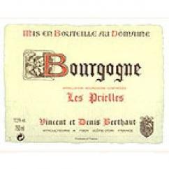 """Domaine Berthaut - Bougogne """"Les Prielles"""" - 2007 - Bouteille - 0.75L"""
