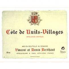 Domaine Berthaut - Côte de Nuits-Villages - 2008 - Bouteille - 0.75L