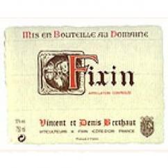 Domaine Berthaut - FIXIN - 2010 - Bouteille - 0.75L