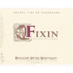 Domaine Berthaut - FIXIN - 2012 - Bouteille - 0.75L