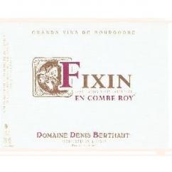 Domaine Berthaut - FIXIN En Combe Roy - 2012 - Bouteille - 0.75L