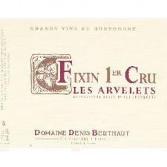 Domaine Berthaut - FIXIN Les Arvelets 1er Cru - 2008 - Bouteille - 0.75L