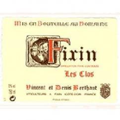Domaine Berthaut - FIXIN Les Clos - 2007 - Bouteille - 0.75L