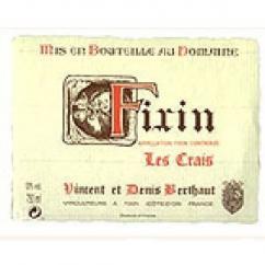 Domaine Berthaut - FIXIN Les Crais - 2006 - Bouteille - 0.75L
