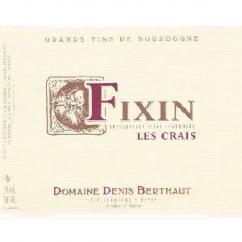 Domaine Berthaut - FIXIN Les Crais - 2011 - Bouteille - 0.75L