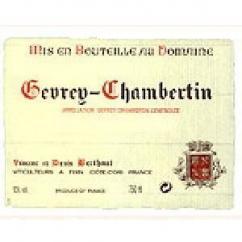 Domaine Berthaut - Gevrey-Chambertin - 2008 - Bouteille - 0.75L