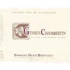 Domaine Berthaut - Gevrey-Chambertin - 2012 - Bouteille - 0.75L