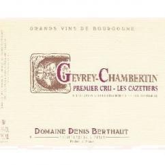 Domaine Berthaut - Gevrey-Chambertin Les Cazetiers 1er CRU - 2007 - Bouteille - 0.75L
