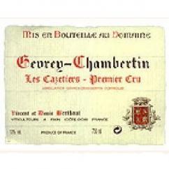 Domaine Berthaut - Gevrey-Chambertin Les Cazetiers 1er CRU - 2009 - Bouteille - 0.75L