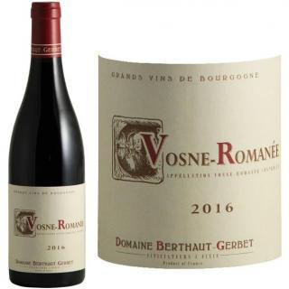 Domaine Berthaut - Vosne-Romanée 2016 - 2016 - Bouteille - 0.75L