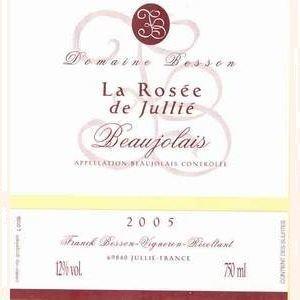 Domaine Franck Besson - La rosée de Jullié - rosé - 2017 - Bouteille - 0.75L
