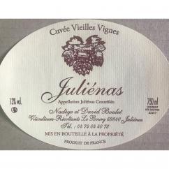 Domaine Boulet - Juliénas Vieilles Vignes - 2017 - Bouteille - 0.75L