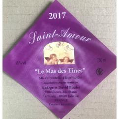 Domaine Boulet - Saint-Amour - 2017 - Bouteille - 0.75L