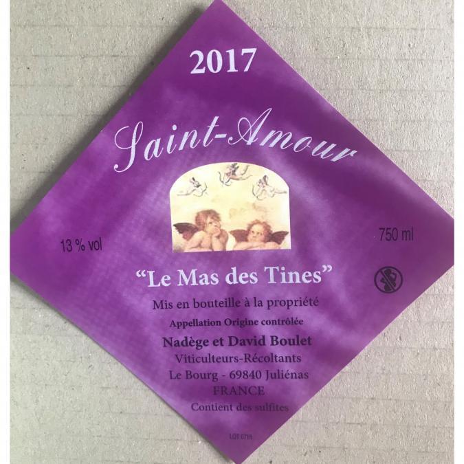 Domaine Boulet - Saint-Amour - 2018 - Bouteille - 0.75L