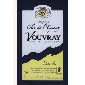 Domaine Clos de l'Epinay - Clos de l'Epinay Demi Sec - blanc - 2015 - Bouteille - 0.75L