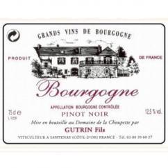 Domaine de la Choupette Gutrin fils - BOURGOGNE Pinot Noir - 2004 - Bouteille - 0.75L