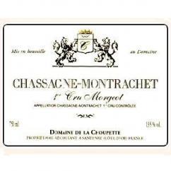 """Domaine de la Choupette Gutrin fils - CHASSAGNE 1 er CRU """"MORGEOT """"rouge - 2009 - Bouteille - 0.75L"""