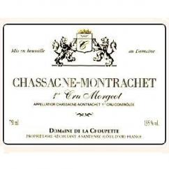 """Domaine de la Choupette Gutrin fils - CHASSAGNE 1 er CRU """"MORGEOT """"rouge - 2008 - Bouteille - 0.75L"""