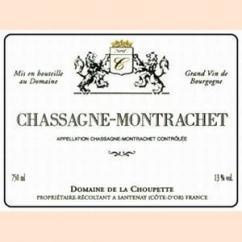 Domaine de la Choupette Gutrin fils - CHASSAGNE-MONTRACHET - 2008 - Bouteille - 0.75L