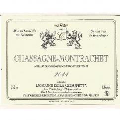 Domaine de la Choupette Gutrin fils - CHASSAGNE - MONTRACHET - 2010 - Bouteille - 0.75L
