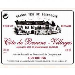 Domaine de la Choupette Gutrin fils - COTE de BEAUNE Villages - 2004 - Bouteille - 0.75L