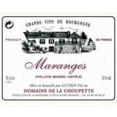 Domaine de la Choupette Gutrin fils - MARANGES - 2004 - Bouteille - 0.75L