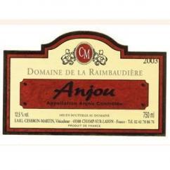 Domaine de la Raimbaudière - Anjou rouge - 2010 - Bouteille - 0.75L