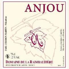 Domaine de la Raimbaudière - Anjou rouge - 2012 - Bouteille - 0.75L