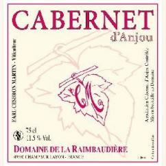 Domaine de la Raimbaudière - Cabernet d'Anjou - 2013 - Bouteille - 0.75L
