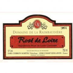 Domaine de la Raimbaudière - Rosé de Loire sec - 2007 - Bouteille - 0.75L