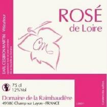 Domaine de la Raimbaudière - Rosé de Loire sec - rosé - 2017 - Bouteille - 0.75L