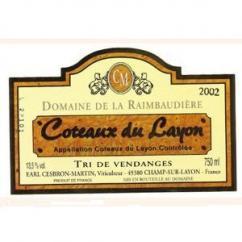 Domaine de la Raimbaudière - Tri de vendanges - 2006 - Bouteille - 0.75L