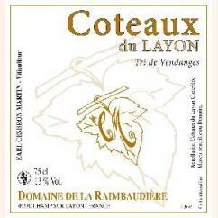 Domaine de la Raimbaudière - Tri de vendanges - 2010 - Bouteille - 0.75L