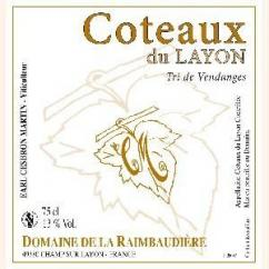 Domaine de la Raimbaudière - Tri de vendanges - 2013 - Bouteille - 0.75L