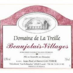 Domaine de la Treille - BEAUJOLAIS-VILLAGES - 1982 - Fontaine à vin - 5L