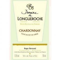 Domaine de Longueroche - Vin de Pays d'Oc Chardonnay Fût - 2008 - Bouteille - 0.75L