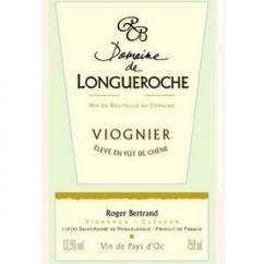 Domaine de Longueroche - Vin de Pays d'Oc Viognier Fût - 2007 - Bouteille - 0.75L