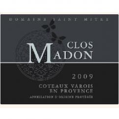 Domaine Saint Mitre - Clos Madon - rouge - 2009 - Bouteille - 0.75L