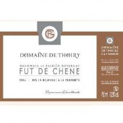 Domaine de Thoiry - Beaujolais fûts de chêne - rouge - 2015 - Bouteille - 0.75L