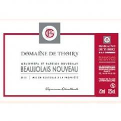 Domaine de Thoiry - Beaujolais Nouveau - rouge - 2016 - Bouteille - 0.75L