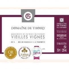 Domaine de Thoiry - Beaujolais Vieilles Vignes Rouge - 2015 - Bouteille - 0.75L