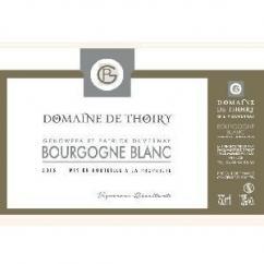Domaine de Thoiry - Bourgogne - Blanc - 2015 - Bouteille - 0.75L