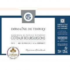 Domaine de Thoiry - Côteaux Bourguignons - rouge - 2015 - Bouteille - 0.75L