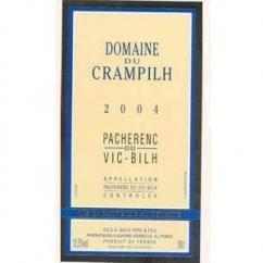Domaine du Crampilh - Pacherenc du Vic-Bilh Moelleux - Fûts de chêne - 2007 - Bouteille - 0.75L