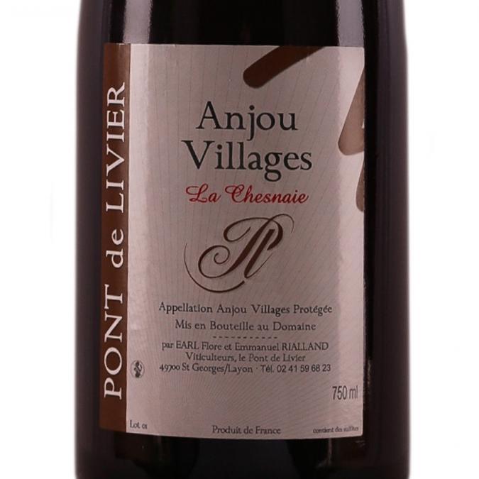 DOMAINE DU PONT DE LIVIER - Anjou villages la chesnaie - 2016 - Bouteille - 0.75L