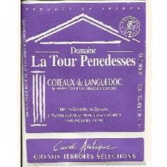 Domaine La Tour Penedesses - Cuvée Antique Rouge - 2010 - Bouteille - 0.75L