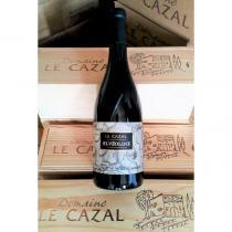 Domaine Le Cazal - ALVEOLINE - CAISSE EN BOIS - 2015 - Bouteille - 0.75L