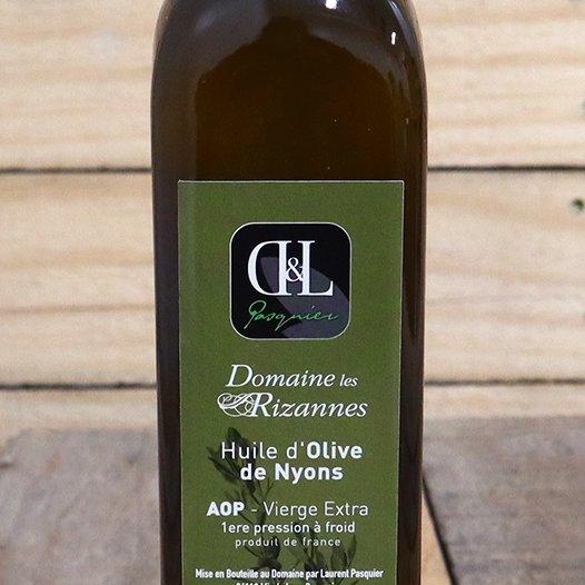Domaine les rizannes - Huile d olive de nyons bio - Huile d'olive