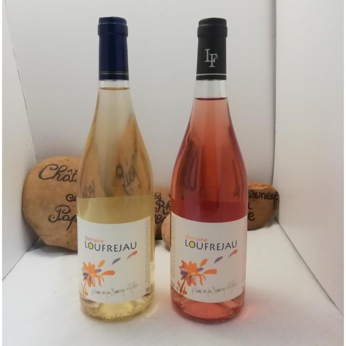 DOMAINE LOU FREJAU - Côte Du Rhônes Rosé 2019 - 2019 - Bouteille - 0.75L